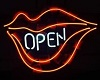 Club Neon Sign OPEN