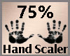 Hand Scale 75% F