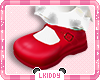 Shoes Red Kids