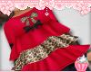 ! Cheetah Bow Top Kids