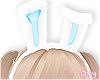 ♡ blue bunny ears