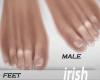 - Feet -No Polish Feet M