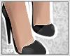 X! Black Stiletto Pumps