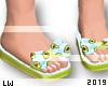 Mom&Kid Avocado Sandals