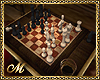 :SG: LIBRARY CHESS TABLE