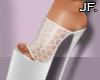 Jf. Infinity White Heels