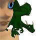 Green Shoulder Dragon L