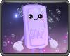 Kawaii Purple Soap With Bubbles