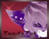 purple furr ears