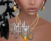 nataly knit jewelry set
