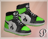 Devil Dolls Shoes Green