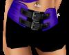 SE-Purple & Black Shorts