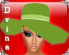 South Beach Green Hat