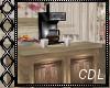 !C* Floral Coffee Machin