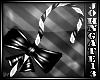 Dark Candy Bow Cane