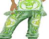 pants green moh