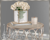 BEIGE ROSES TABLE