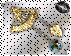 Oriental Fan Earrings