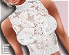 £ lace top