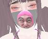 Pink guy mask