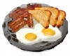 Breakfast eggs and bacon