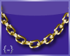 {-} Chain Link | Gold