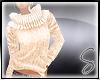 [Sev] Knit Sweater Beige
