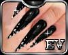 Sharp Black Nails Dia EV