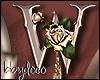 Deco Rose Sticker (W)