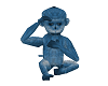 Spank the blue monkey