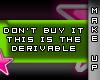 [V4NY] Derivable F.