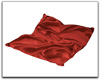 Red Satin Cuddle Pillow