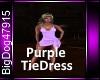 [BD]PurpleTieDress