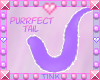 Purrfect | Purple Tail