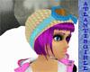 (AG)Gold Ski Hat