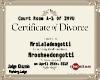 (SL) DonGotti's Divorce