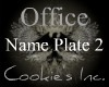 (CI) Desk Name Plate2