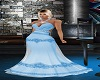 Baby Blue Bell Gown