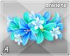 A| Lani Flower Anklets 6