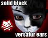Black Floppy Dog Ears