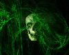 Toxic Green Skull Top