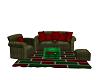 Fcr Plaid Xmas Couch