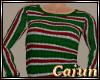 Christmas Stripe Sweater