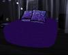 purple cuddle beanbag 40
