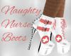 Naughty Nurse Boots