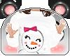 P. Cute Snow Girl Hoodie