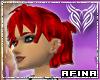 Amber Scarlet Shimmer