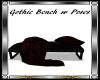 Gothic Bench w/P