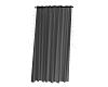 black seethrough curtain