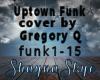 Uptown Funk Cover Gregor